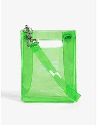 NANA-NANA A6 neon PVC tote bag