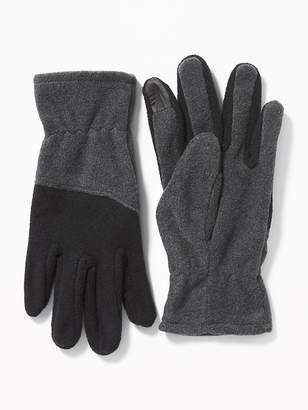 Old Navy Go-Warm Performance Fleece Text-Friendly Gloves for Men