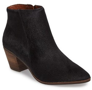 Women's Lucky Brand Linnea Ii Genuine Calf Hair Bootie $158.95 thestylecure.com