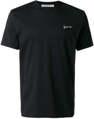 Givenchy signature logo crest T-shirt
