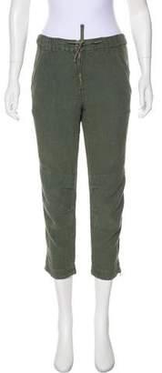 Etoile Isabel Marant Linen Mid-Rise Pants