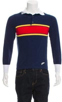 Michael Bastian Button-Up Polo Shirt