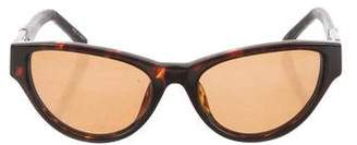 The Row x Linda Farrow Tinted Cat-Eye Sunglasses