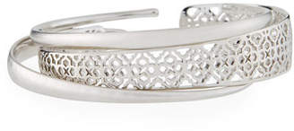 Kendra Scott Tiana Pinch Filigree Stack Bracelets, Set of 3