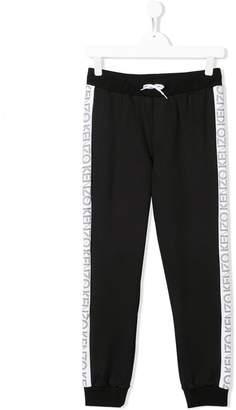 Kenzo side logo trousers