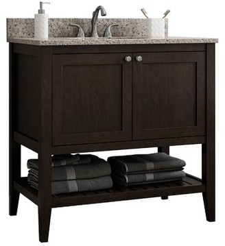 """CNC Costume National Cabinetry Vanguard 42"""" Single Bathroom Vanity Base Only Cabinetry"""