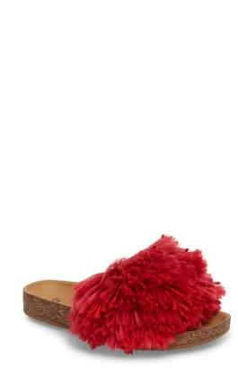 UGG Cindi Yarn Pom Sandal