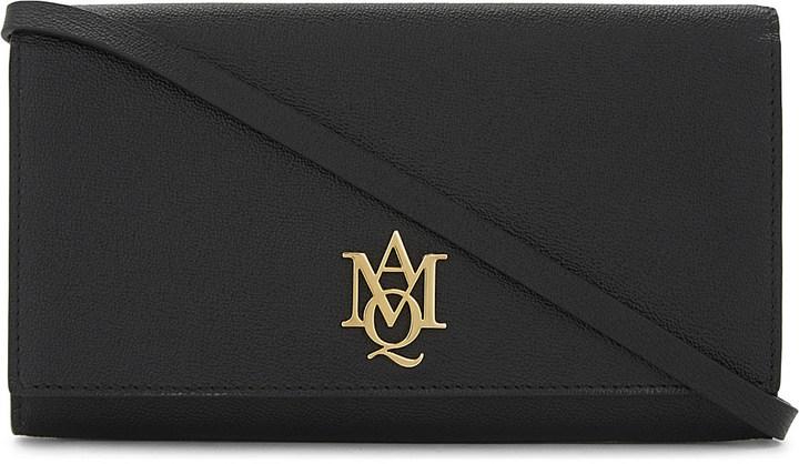 Alexander McQueenAlexander Mcqueen Logo leather cross-body bag