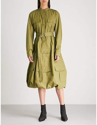 J.W.Anderson Multi-pocket cotton shirt dress