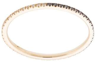 Ef Collection two tone diamond eternity band ring