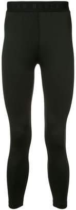 Blackbarrett logo band leggings