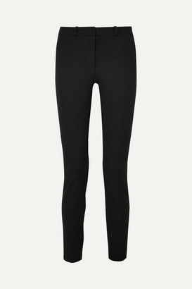 Joseph New Eliston Stretch-gabardine Slim-leg Pants - Black