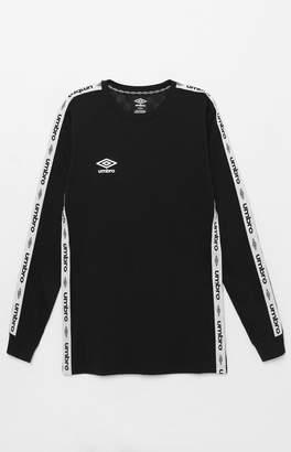 Umbro Tapered Black Long Sleeve Jersey