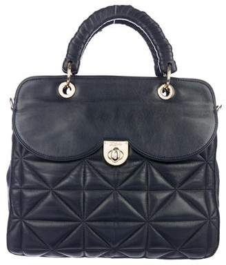 Zac Posen Z Spoke by Quilted Leather Satchel