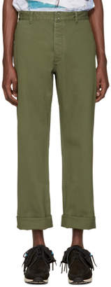 Visvim Green Pastoral Trousers