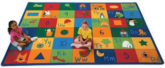 Zoomie Kids Emerado Learning Blocks Area Rug Rug