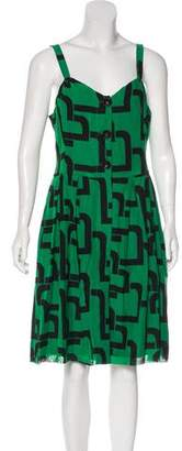 Tibi Sleeveless Knee-Length Dress w/ Tags