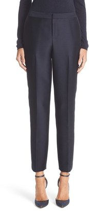 Women's Nordstrom Signature And Caroline Issa Tuxedo Pants $399 thestylecure.com
