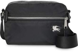 37a84ac596e0 Burberry Leather Messenger Bag - ShopStyle Australia