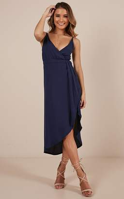 Showpo One More Night dress in navy - 8 (S) Sale Dresses