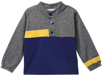 Petit Lem Henley Pullover Knit Sweater (Toddler, Little Boys, & Big Boys)