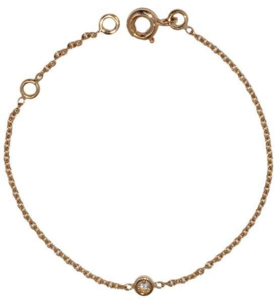 Christian Dior Christian Dior 750 Yellow Gold Diamond Mimiwi Bracelet