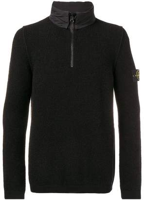 Stone Island zipped jumper