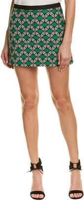 Milly Jacquard Mini Skirt