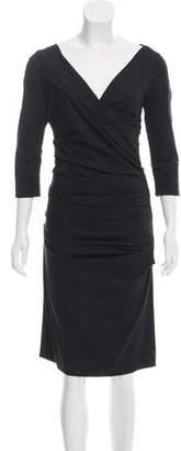 Diane von Furstenberg Off-The Shoulder Mini Dress