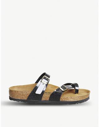 Birkenstock Mayari cross strap sandal