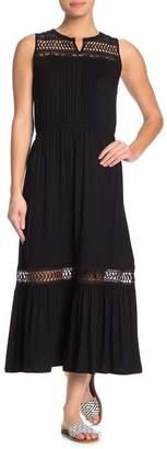 Spense Crochet Sleeveless Maxi Dress