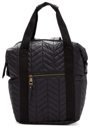 Madden-Girl Booker Quilted Backpack Tote