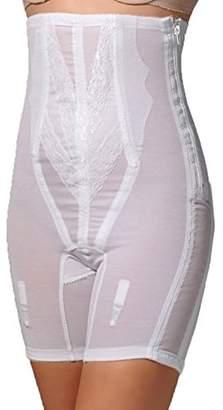855aeb8a17 Rago Women s Plus-Size Extra Firm Zippered High Waist Long Leg Shaper ...