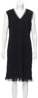 Alberta Ferretti Textured Midi Dress