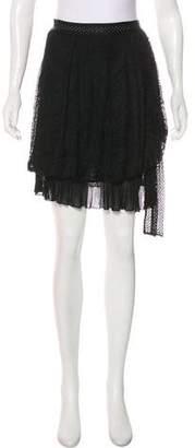 Christian Dior Lace Mini Skirt
