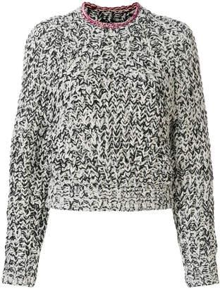 Isabel Marant Wenji Turtle-neck Cotton Sweater