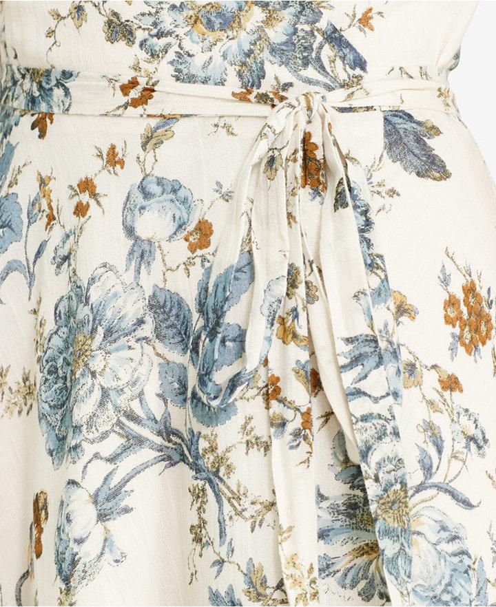 Denim & Supply Ralph Lauren Floral-Print Gauze Wrap Dress 4