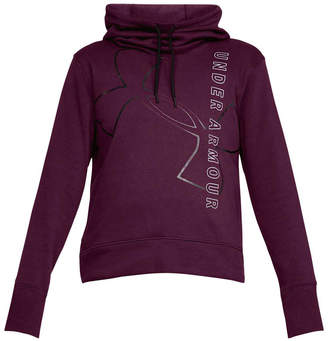 Under Armour Womens Big Logo Cotton Hoodie