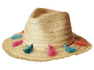 San Diego Hat Company UBF1104OS Fedora w/ Multi Color Tassels