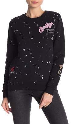 Superdry Harriet Patch Crew Neck Sweatshirt