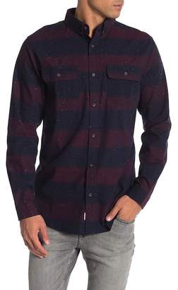 Como Man Striped Long Sleeve Shirt