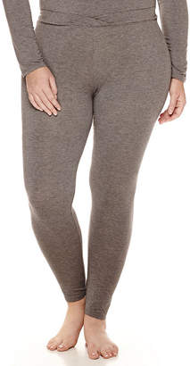 Cuddl Duds Softwear With Stretch Thermal Pants-Plus