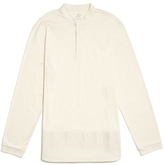 JackThreads Mandarin Collar Combo Shirt $49 thestylecure.com