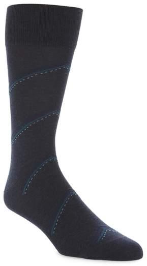 R) Bias Stripe Socks