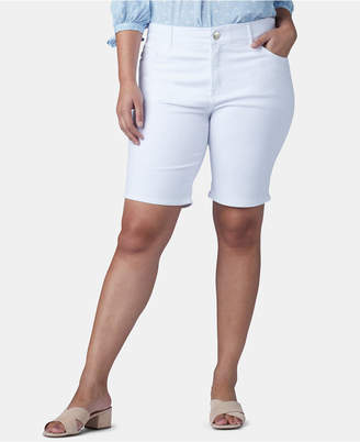 f1ec0bda67 Lee Platinum Plus Size Flex To Go Bermuda Shorts