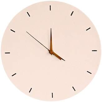 Mes Homewares Hannah Round Wall Clock, White, 29cm
