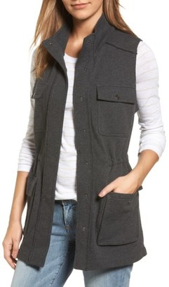 Petite Women's Caslon Utility Vest $79 thestylecure.com