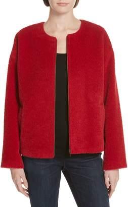 Eileen Fisher Wool & Alpaca Blend Jacket