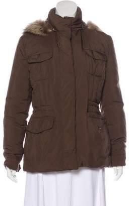 Loro Piana Fur-Trimmed Puffer Jacket