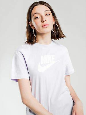 Nike New Womens Nsw Short Sleeve Rebel T Shirt In Purple Tops & T Shirts